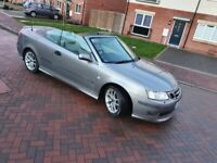 2005 Saab 9-3 Convertible Manual 2.0LTR TURBO PETROL BARGAIN PRICE NO LESS OFFERS ACCEPTED £998