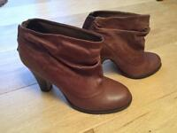 Dune ankle boots, worn once, size 38