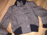 River island coat size 12