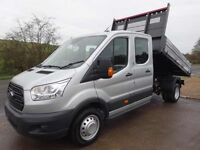 Ford Transit Tipper, Double Cab...