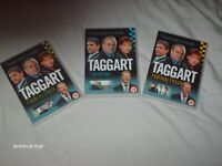 TAGGART DVDs ( 3 off )
