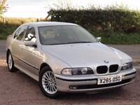 BMW E39 523i SE Saloon, Auto, 2000 / X Reg, 62k Miles, 1 Owner, FBMWSH, MOT: 1 Year