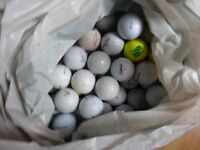 50 Practice Golf Balls Titleist , Wilson Balls are as per pic a mix of all models