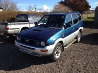 NISSAN TERRANO 4X4 2.7 T/D TD27 1999. IDEAL EXPORT OR UK USE