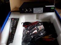 Bran New In Car Digital TV DVB-T complete set