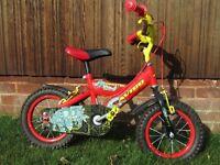 "Avigo Dinotec 12"" Bike (stabilisers are included but not shown)"