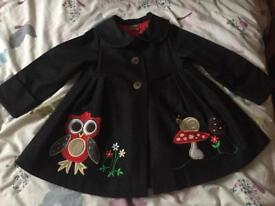 Stunning girls coat Age 4