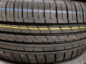 4 summer tires new 225/40r18