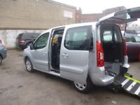 Peugeot PARTNER TEPEE 1.6 HDI,1560 cc MPV,Wheelchair adapted lightweight ramp and winch,great mpg