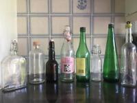 Assortment of Glass Bottles