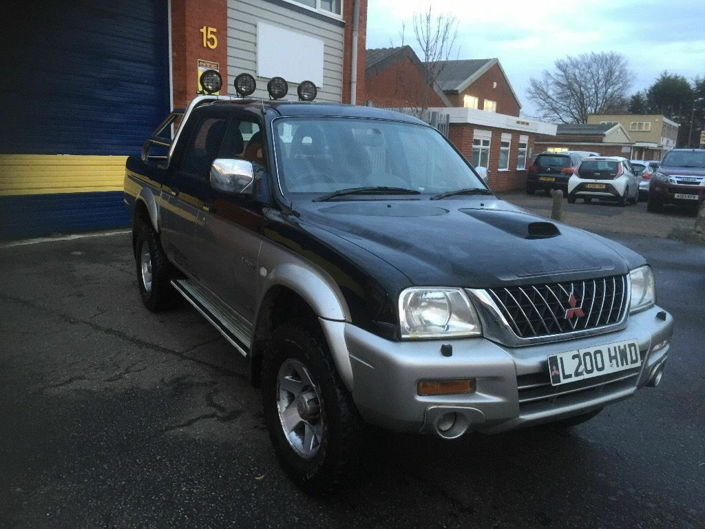2004 Mitsubishi l200 animal 2.5 diesel 4x4 12 months mot/3 months parts and labour warranty