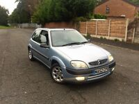 2002 52 REG CITROEN SAXO 1.6 VTR 12 MONTH MOT LOW MILEAGE ***BARGAIN***