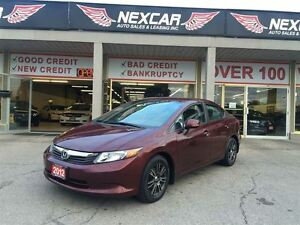2012 Honda Civic LX AUT0 A/C CRUISE ONLY 76K