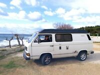 Rare Carthago VW T25 T3 Motor Home Campervan - Left Hand Drive - in original vintage condition