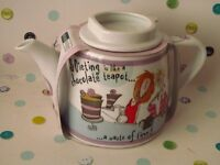 Johnson Brothers Born to Shop Teapot - Brand New