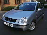 Volkswagen Polo 1.4 S 5dr (a/c)£1,695 p/x welcome 3 MONTHS WARRANTY INCLUDE