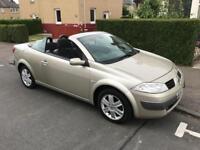 Automatic Renault Megane karmann edition convertible Full years mot
