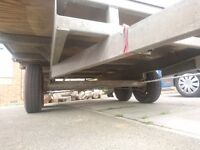 Twin axle trailer