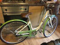"Ladies 16"" Raleigh caprice Dutch style town bike"