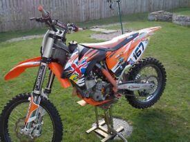 KTM 350 SFX MOTORBIKE