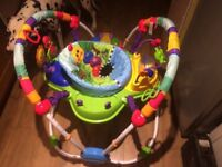 Baby Einstein Activity jumper and spin