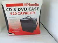 Humlin DVD CD case holds 520 discs NEW