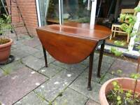 Folding Table vintage upcycle