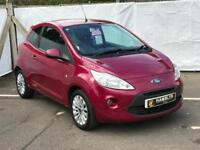 Ford KA 1.2 Zetec, *Low Mileage* Ideal First Car £20 A Year Rd Tax, 3 Month Warranty, 12 Month Mot