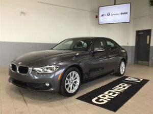 2017 BMW 320I xDrive + groupe premium + support lombaire