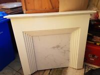 Free to collect fireplace surround