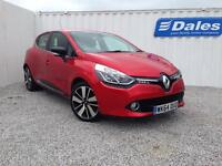Renault Clio Dynamique S Nav 0.9 TCE 90 Petrol (flame red nnp) 2014