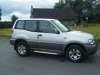 2003 NISSAN TERRANO 2.7 TD SWB LONG MOT RELIABLE 4X4 NO OFFERS CHEAP TRADE IN TO CLEAR