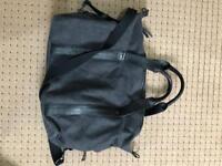 Grey Weekender Bag