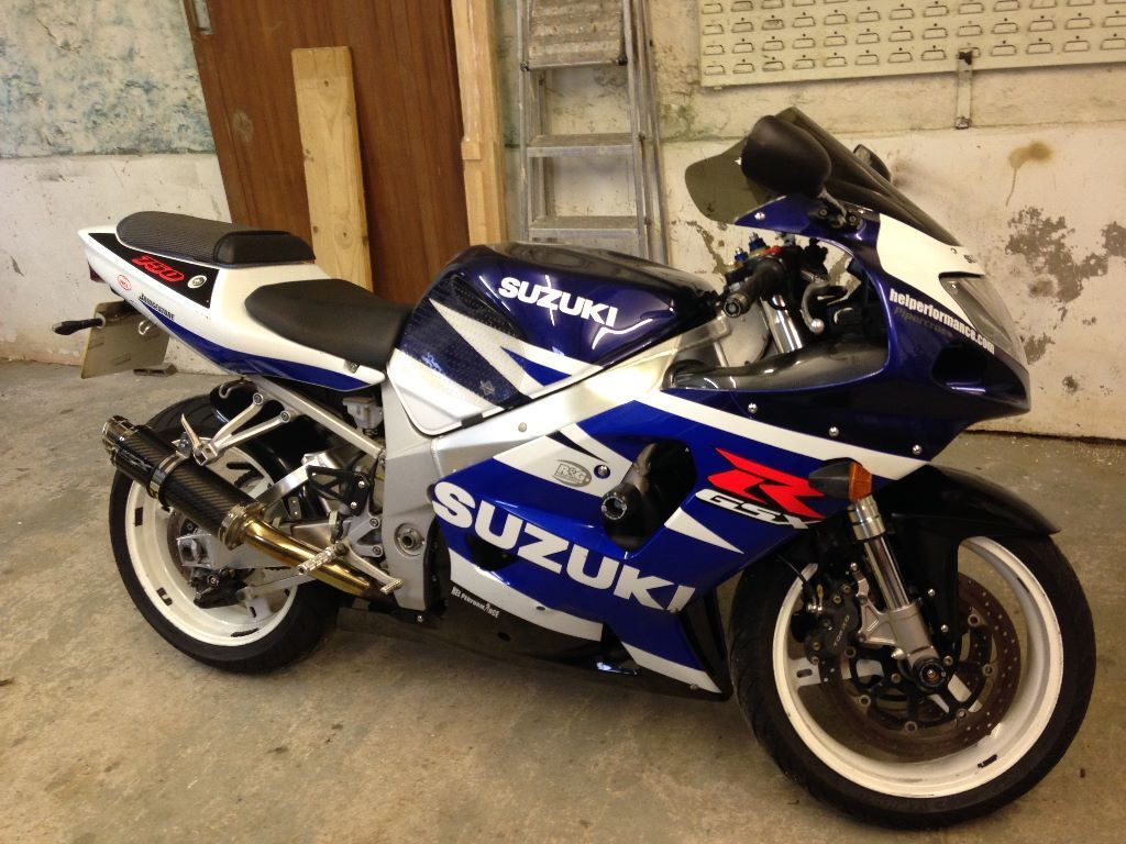 suzuki gsxr 750 k3, 2003 reg, very clean and well looked after