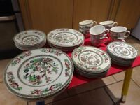 Johnson Brothers Indian Tree-Part Dinner Set 39 Piece