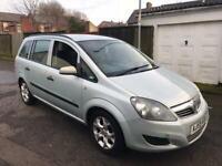 Vauxhall Zafira 1.6 i 16v Life Facelift 7 seater, 12 Months Mot 2022, alloys