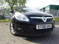 08 VAUXHALL CORSA BREEZE 1.2,5 DOOR,MOT APRIL 019,2 OWNERS FROM NEW,PART HISTORY,2 KEYS,LOVELY CAR