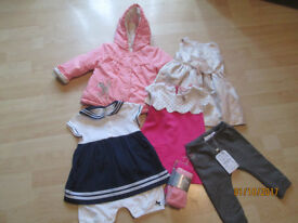 BABY GIRLS CLOTHES SELECTION (26 ITEMS)