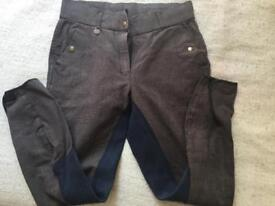 Good quality ladies horse riding trousers