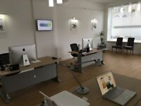 All inclusive Desk Space and Meeting Room in Aberdeen City Centre