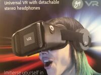 Goji VR Universal Headset With Stereo Speakers Headphones Brand new sealed with 12months UK Warranty