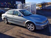 Jaguar X-Type 2.1 V6 SE 4dr FULL LEATHER UPHOLSTERY 2003**LUXURY CAR**FULLY LOADED**MUST SEE**
