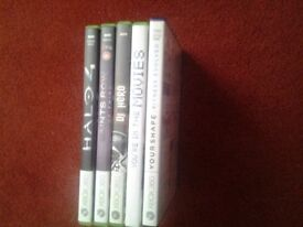 7 x XBOX 360 Games for sale.