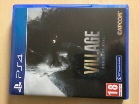 Resident Evil: Village PS4 (great condition)
