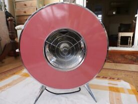 Retro atomic,space ship style,electric heater