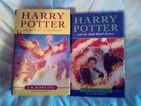 2 harry potter books jk rowling
