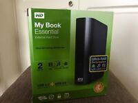 External hard drive WD My book essential 2TB