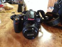 Nikon D3000 Camera with 50mm lens