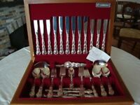 Silver plate 'Community Plate' boxed set of cutlery