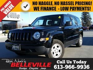 2016 Jeep Patriot Sport-4x2-air Conditioning